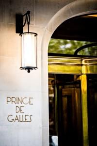 Prince de Galles Paris - Hotel entrance