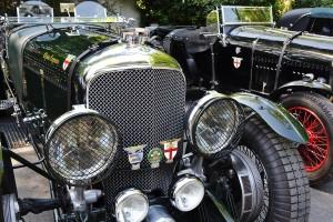 Une Bentley des années 20