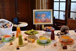 Le buffet pour les enfants