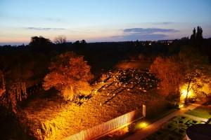 La vue de nuit