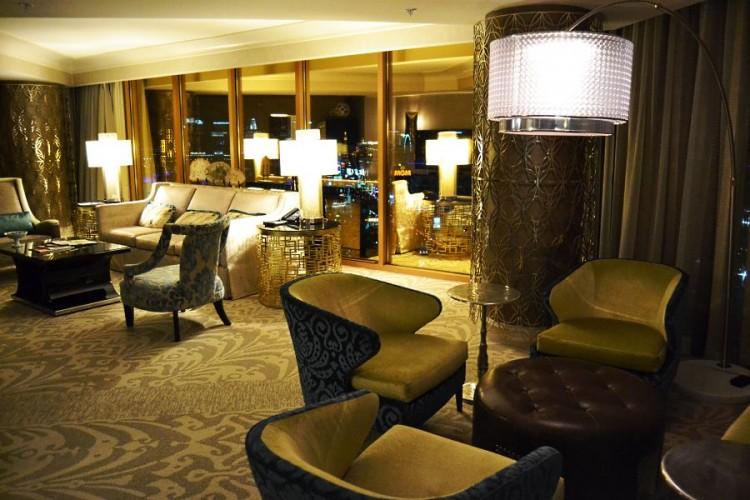 Four Seasons Las Vegas Presidential Suite living room