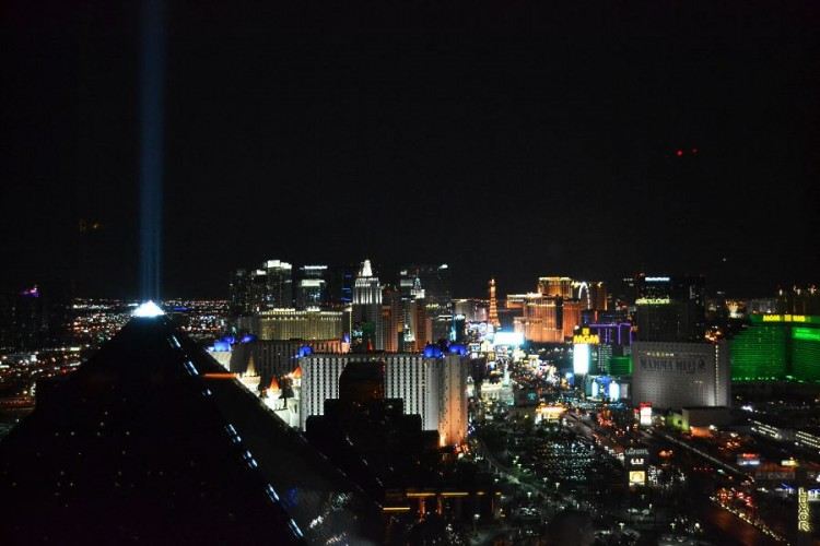 Four Seasons Las Vegas Strip view