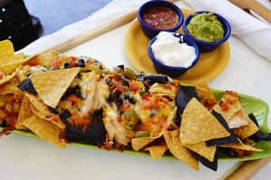 Pool bar nachos