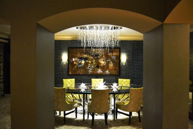 Four Seasons Presidential Suite dining room