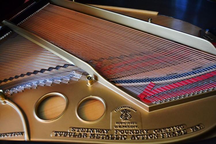 Mandarin Oriental Las Vegas Presidential Suite Steinway & Sons piano