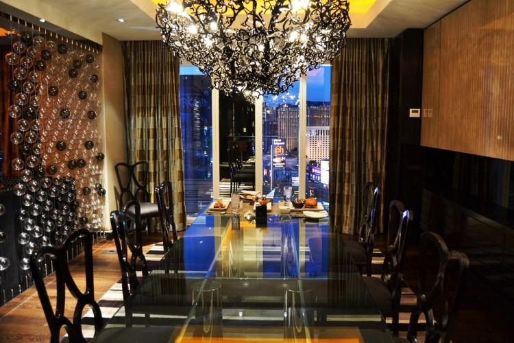 Mandarin Oriental Las Vegas room service Presidential Suite