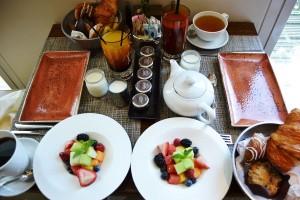 Breakfast at the Mozen Bistro