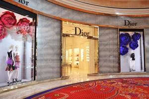 La boutique Dior