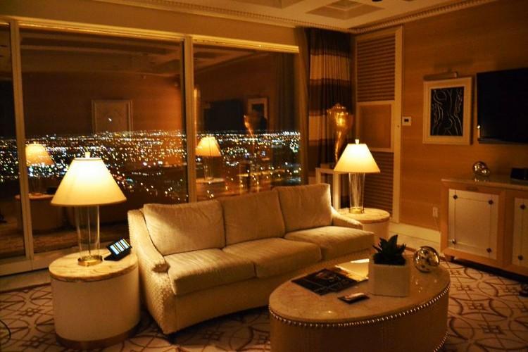 Wynn Las Vegas Parlor Suite living room