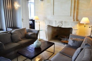 Lounge corner in the lobby