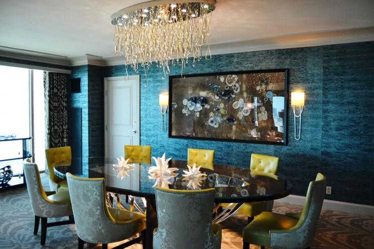 Four Seasons Las Vegas Presidential Suite dining room