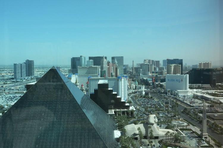 The Las Vegas Strip view