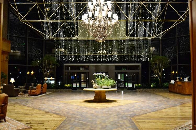 Hilton DFW Lakes Dallas lobby