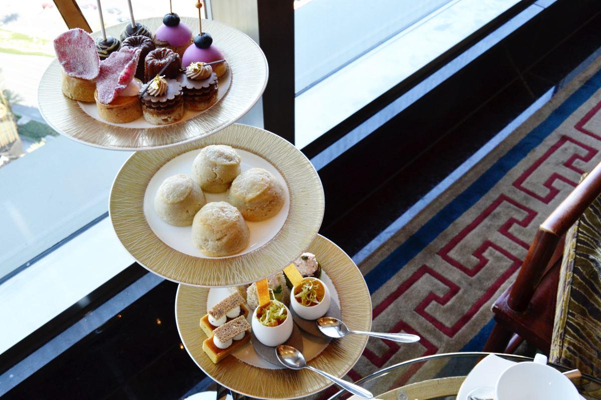 Tea time at Mandarin Oriental Las Vegas