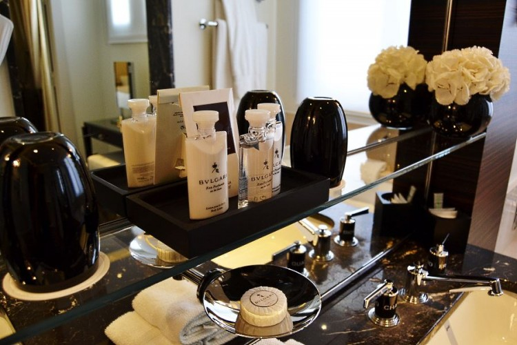Bulgari products amenities