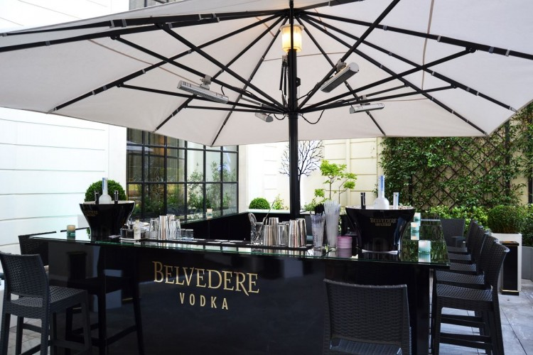 Le bar Belvedere