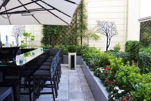 Shangri-La Paris Belvedere terrace
