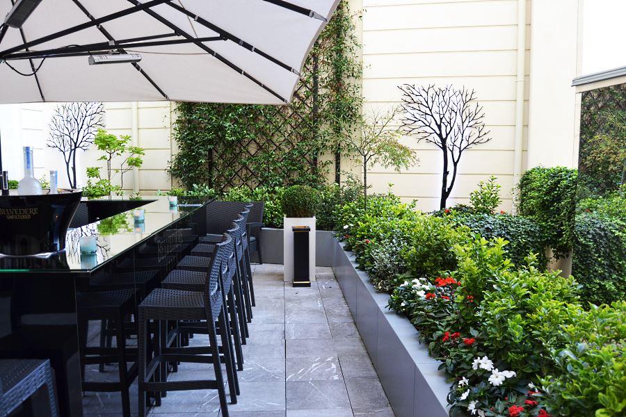 Les terrasses d 39 t du shangri la paris for 7 summerland terrace