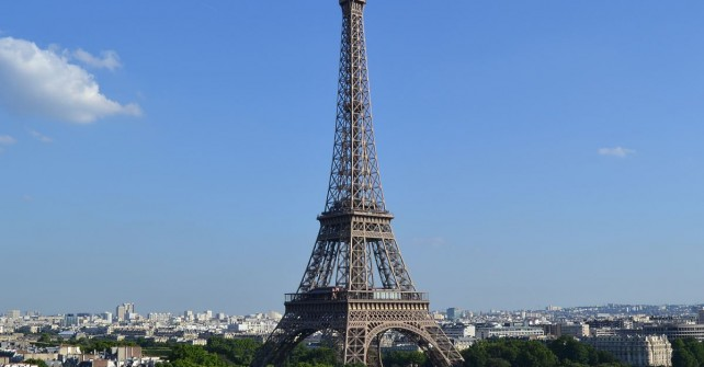 The Summer terraces of the Shangri-La Paris