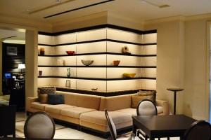 The lounge near the lobby