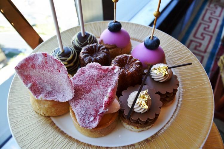Tea time pastries