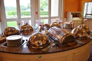 Hot meals buffet