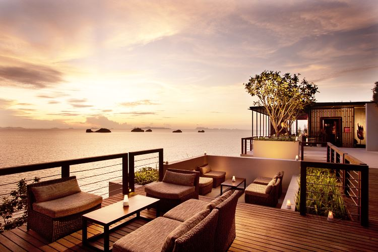 Le Lounge Aura du Conrad Koh Samui