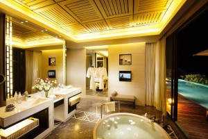Oceanview 3 bedrooms Villa bathroom