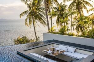 Royal Villa terrace