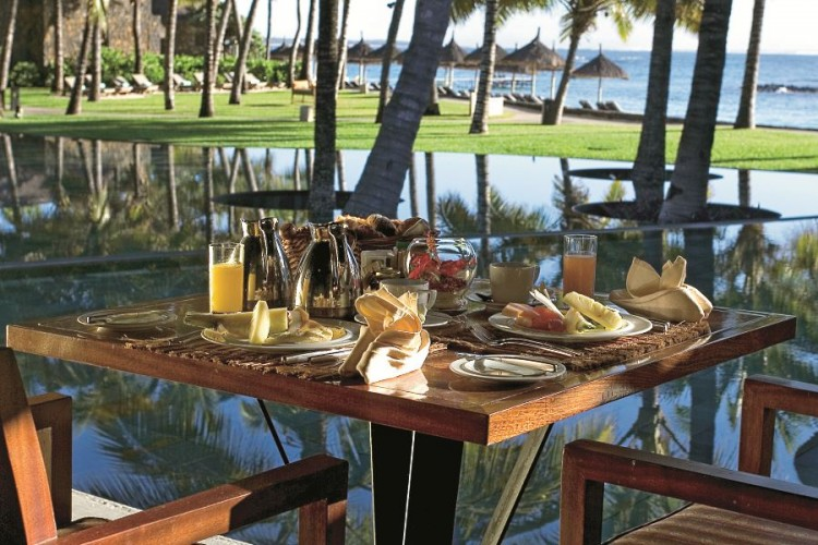 Breakfast at the Constance Hotel