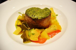 The  candied lamb shoulder