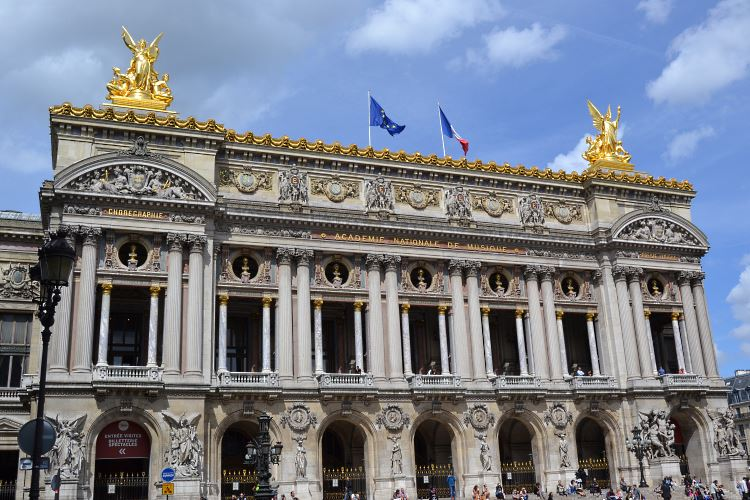 The Garnier Opera in Paris