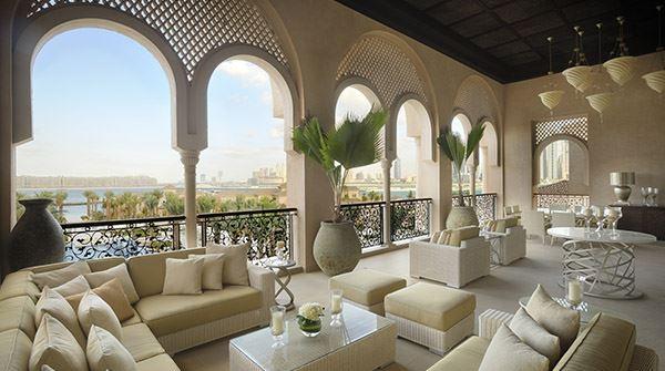 La terrasse de la Grand Palm Suite