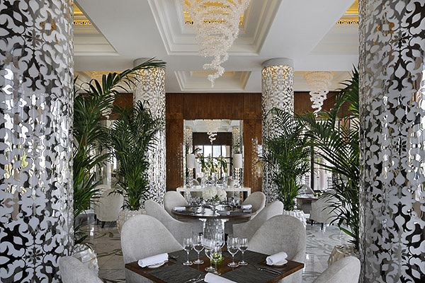Le restaurant Zest The Palm Dubaï