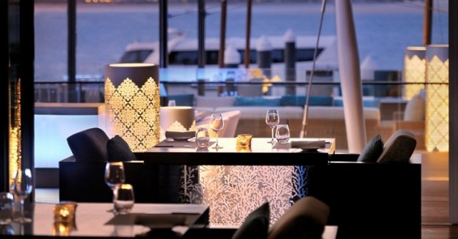 101 Dining Lounge and Bar de la marina du Palm Dubaï