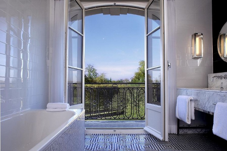 Salle de bain de Chambre Deluxe Vue Parc