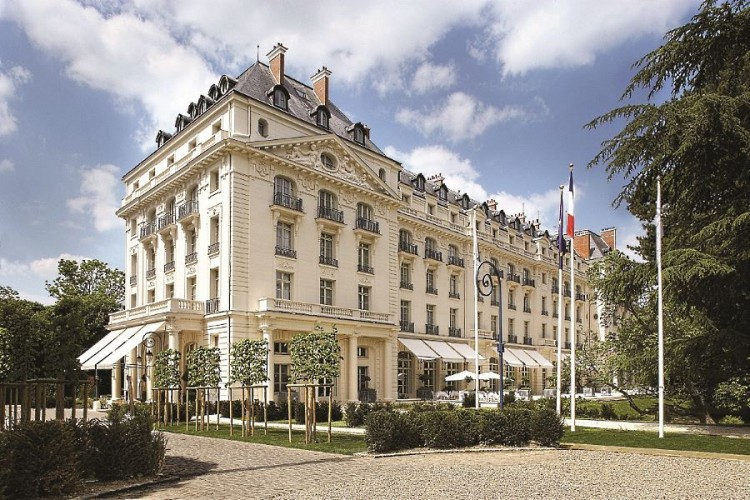 Trianon Palace Versailles facade