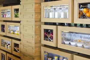 La bibliothèque des ingrédients du restaurant Zest