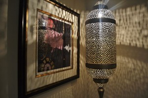 Bedroom Moroccan lamp