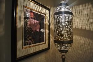 Bedroom Moroccan lamp
