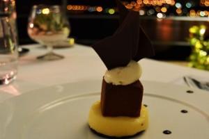 The chocolate with yuzu