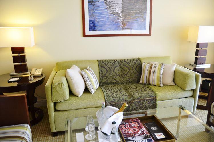 Fairmont Monte Carlo Riviera Suite living room