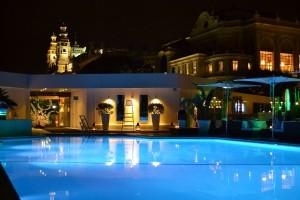 La piscine du Fairmont