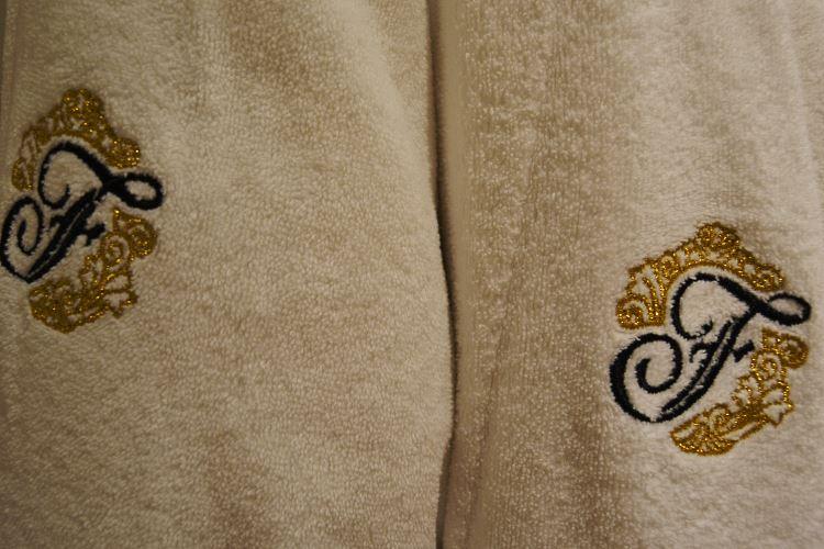 Fairmont bathrobe