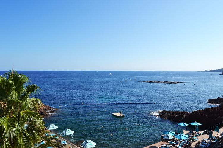 French Riviera sea view from the Suite