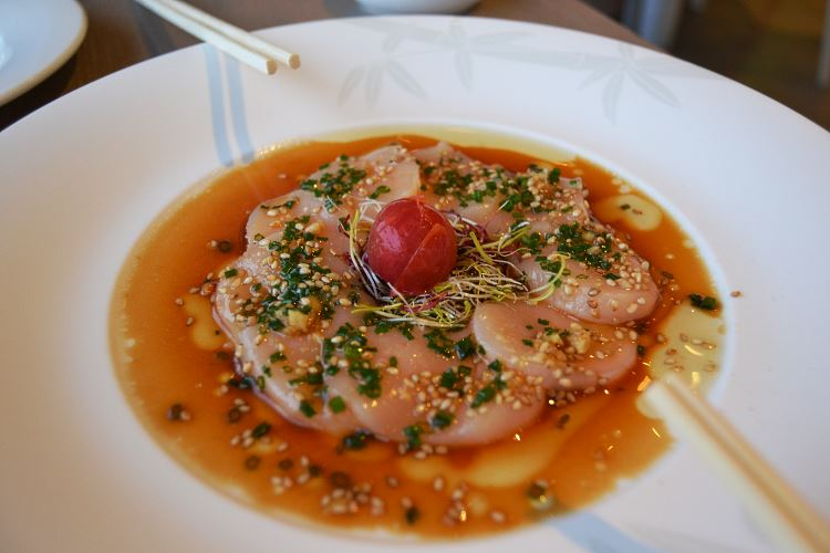 Nobu new style Scallop sashimi