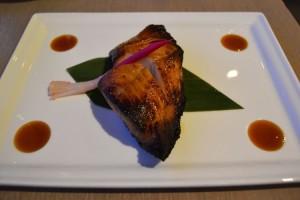Black cod yuzu miso by Nobu