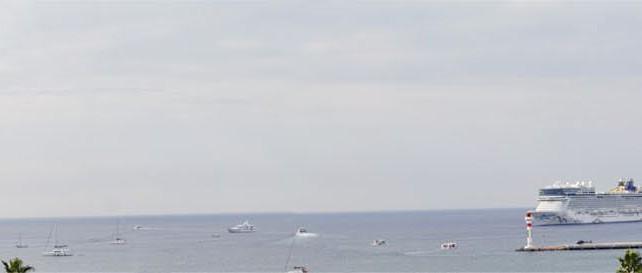 Vue panoramique depuis le Majestic Barriere
