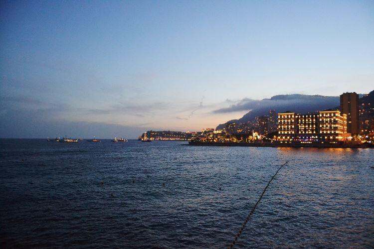 Monaco vue de nuit