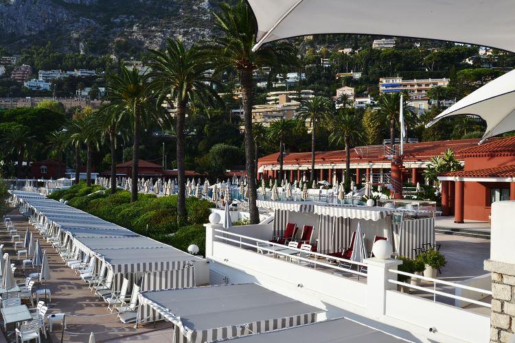 Plage du Monte Carlo beach